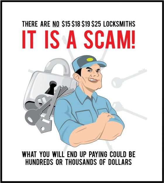 Toronto Locksmith Scams: Don't Be Fooled
